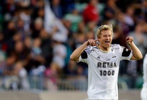 BLIR TRENER: Steffen Iversen skal trene 4. divisjonslaget Haugar. Her i Rosenborg-drakta fra 2012-sesongen.
