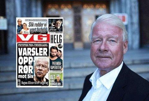 Det vakte stor oppsikt at Frp-veteran Carl I Hagen åpenlyst kritiserte Frp-leder Siv Jensen i VG i valginnspurten. Nå tar han selv et oppgjør på Facebook med det han mener er feilsitering - og avviser at han har kritisert Siv Jensen.