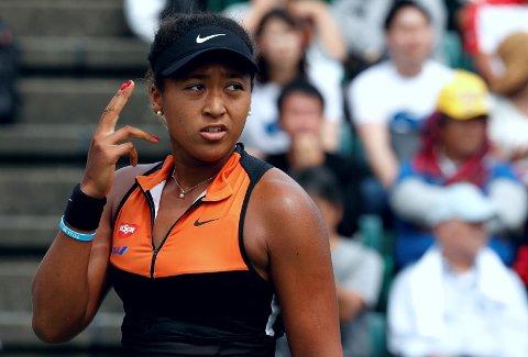 HAR TATT VALGET: Naomi Osaka. Her avbildet i september under finalen av turneringen Pan Pacific Open i hjembyen hun deler navn med, Osaka.