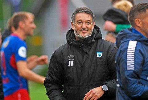 Tromsdalen og trener Jonathan Hill har fått en tøff start på sesongen i 2 divisjon.