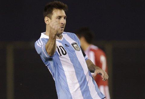 STJERNE: Lionel Messi bli Argetinas viktigste mann under fotball-VM.