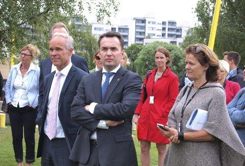 Veien videre: Ministre og byråder møtte torsdag opp for å diskutere resultater og videre utfordringer i Groruddalen.