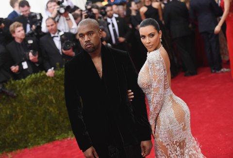 KJENDISBRÅK: Kanye West og Kim Kardashian krangler med Taylor Swift.
