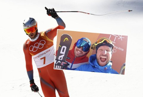 HUNDREÅRSHENDELSE: Superlativene strømmer på etter at Aksel Lund Svindal vant foran Kjetil Jansrud og tok Norge første utforgull i OL noen gang.