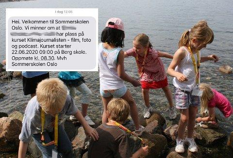 AVLYST: I år skulle det vært det 15. året med sommerskole og aktiviteter for nærmere 20.000 barn i Oslo, men Sommerskolen er avlyst. Likevel fikk foreldre melding tirsdag om oppmøtetid.