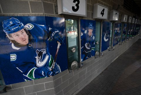 Vancouver Canucks er i karantene. Foto: Jonathan Hayward/The Canadian Press via AP / NTB