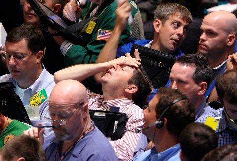IKKE FÅ PANIKK: Hva bør du gjøre når det er store svingninger i aksjemarkedet? Nordea har sett på tre klassike feil.