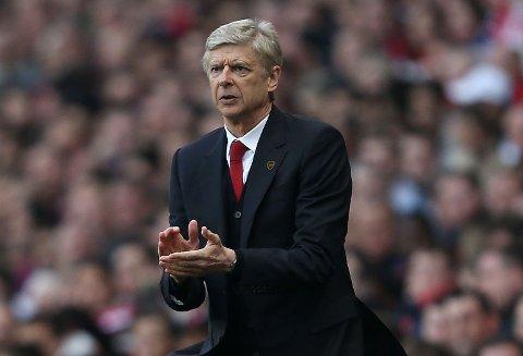 UKLAR FRAMTID: Det er ennå usikkert om Arsène Wenger forblir Arsenal-manager utover den inneværende sesongen, eller ikke.