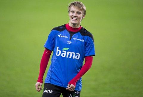 FRISTES HAN AV TYSKLAND? Omstreifende fotballtalent Martin Ødegaard.