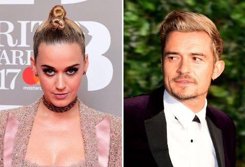 Katy Perry og Orlando Bloom prøver angivelig igjen å få forholdet til å fungere.