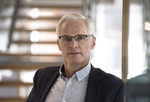 KONKURRANSE: Lars Sørgård leverer ut 1,2 milliarder kroner i gebyrer til noen av Norges største selskaper innen alarm og sikkerhet.