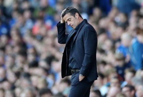 Marco Silva fortviler etter helgens tap mot Sheffield United. Vi tror nedturen fortsetter mot Sheffield Wednesday i ligacupen.