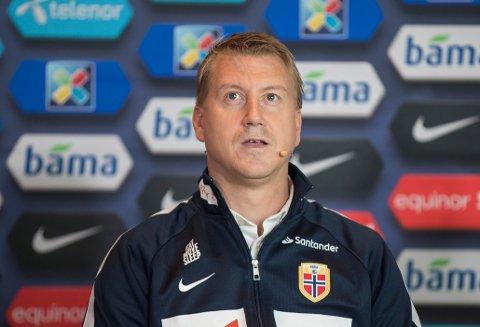 LANDSLAGSSJEF: Leif Gunnar Smerud leder det norske U21-landslaget.