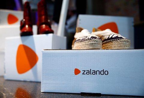 SMELL: Den tyske netthandelgiganten Zalando gikk med dudrende underskudd i første kvartal 2020. . REUTERS/Hannibal Hanschke/File Photo