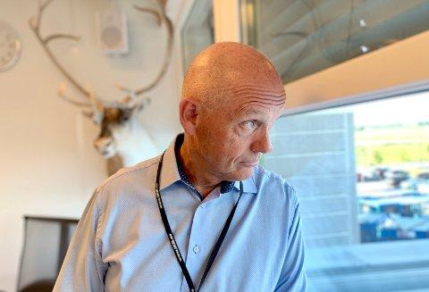 GODT HJORT: Ståle Kyllingstad fylte nylig 60 år, og det har gått over 30 år siden han startet IKM - som har utviklet seg til å bli en industrigigant som sysselsetter rundt 3.000 arbeidere.