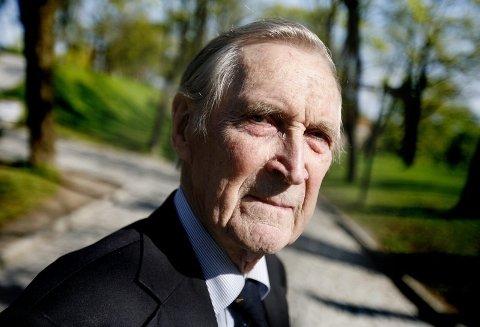 KRIGSHELT: Gunnar Sønsteby er en av de høyest dekorerte nordmennene gjennom historien.