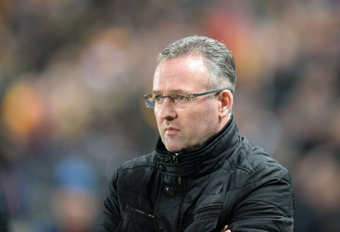 SPARKET: Manager Paul Lambert.