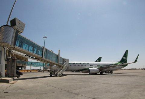 FÅR KONTANTER VED ANKOMST: Siden returprogrammet til Irak ble etablert i 2008, har over 2000 personer reist fra Norge til Irak. Nå lokkes det blant annet med økt kontantbeløp ved ankomst. Bildet er fra Bagdad internasjonale lufthavn.