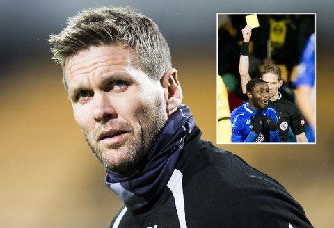 SKYLDER PÅ GJESTEN: LSK-kaptein Frode Kippe mener Starts Dennis Antwi la opp til det selv da han ble angrepet av en hjemmesupporter under målfeiringen sin på Åråsen.