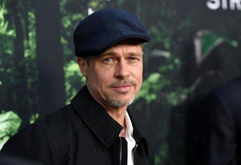 ÅPNER SEG: Brad Pitt forteller om tiden etter skilsmissen. - Det er utrolig vanskelig for barna å oppleve at familien plutselig faller fra hverandre.