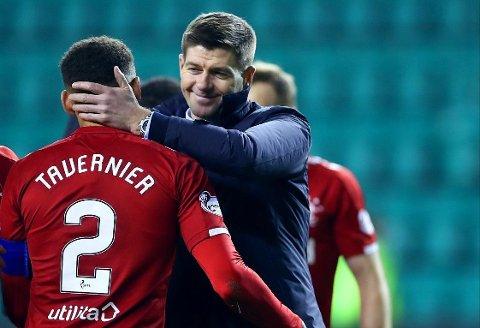 STOR KARRIERE: Steven Gerrard var en etterspurt mann blant europeiske storklubber i løpet av en lang Liverpool-karriere. Nå gjør han det bra også som manager i skotske Rangers.