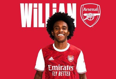 I NYE FARGER: Arsenal har sikret seg den mangeårige Chelsea-profilen Willian.