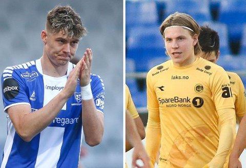 TALENTER: Jørgen Strand Larsen og Jens Petter Hauge er blant Eliteseriens største talenter.