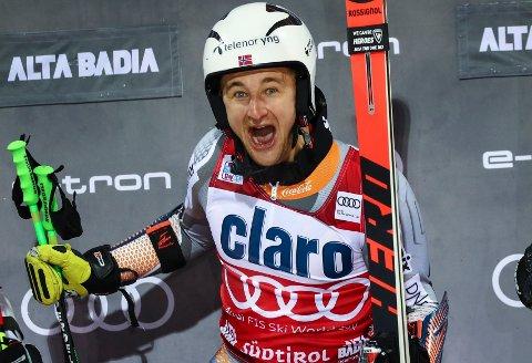 VURDERTE Å LEGGE OPP: Den norske alpin-profilen Rasmus Windingstad.