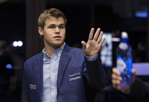 SEIER: Magnus Carlsen gikk til topps.