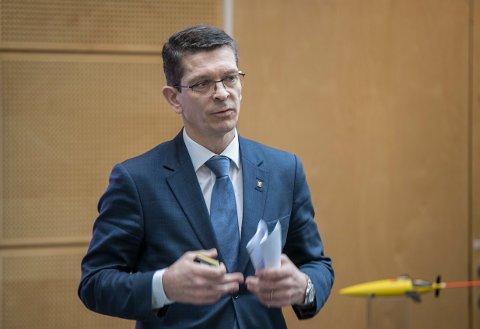 Konsernsjef Geir Håøy i Kongsberg Gruppen dro inn nesten 10 millioner kroner i 2018.