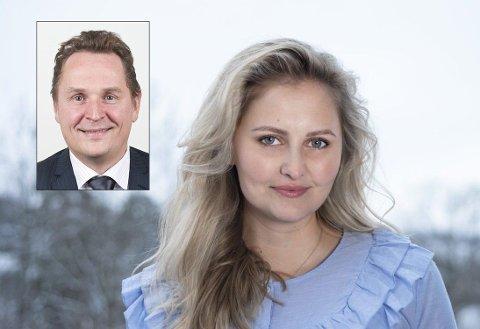 VÆR POSITIV: Hverken Gisle Hellsten, som leder Karrieresenteret ved UiO og hodejeger Ingrid Elise Melbye Olsen anbefaler studentene å fremstå negativt.