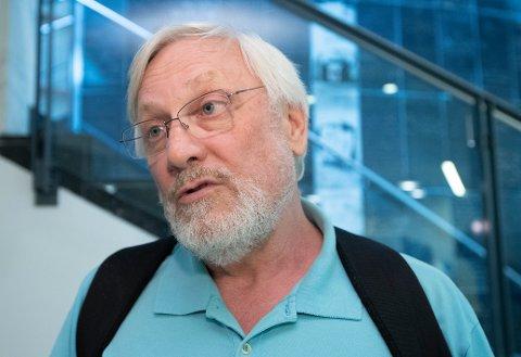 VAR TIL STEDE: – For å bekjempe ideologien må man kjenne til den. Samtidig er det ikke ønskelig at et slikt budskap blir spredt, sier ekstremismeforsker Lars Gule.