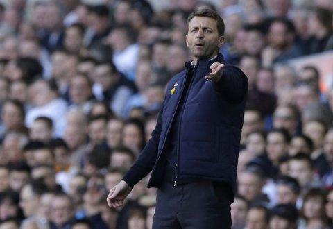 TROR HAN BLIR: Tim Sherwood føler seg sikker på at han fortsetter som Tottenham-manager.
