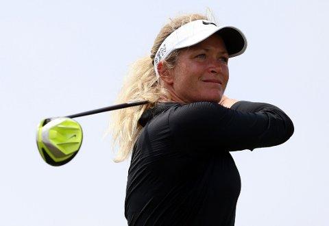 I TET: Suzann Pettersen spiller solid golf i Ontario, Canada.
