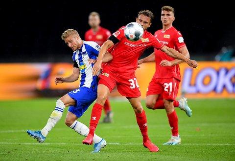 Hertha BSC og Per Skjelbred har fått et oppsving etter trenerskifte. Vi tror de vinner mot Augsburg lørdag.