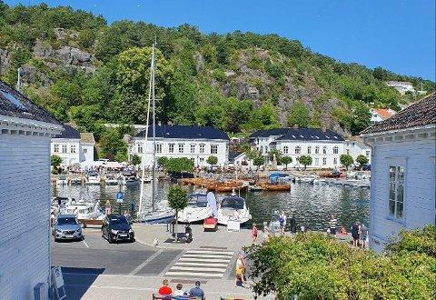 KORONAFRITT: Det er ingen koronatilfeller registrert hos innbyggere i Risør kommune, ifølge Folkehelseinstituttet. 89 andre kommuner er også oppført med null smittetilfeller i statistikken per 8. juni.