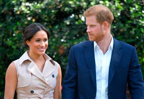 Meghan og Harry har fått barn nummer to, en jente som er oppkalt både etter dronning Elizabeth og prinsesse Diana. Foto: Dominic Lipinski / AP / NTB