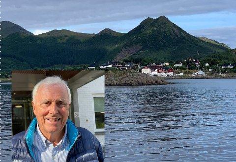 INGEN GOD IDE: - Dette er ikke beste stedet for kapitalister, mener finansprofessor emeritus, Thore Johnsen, ved NHH, om Bø i Vesterålen.