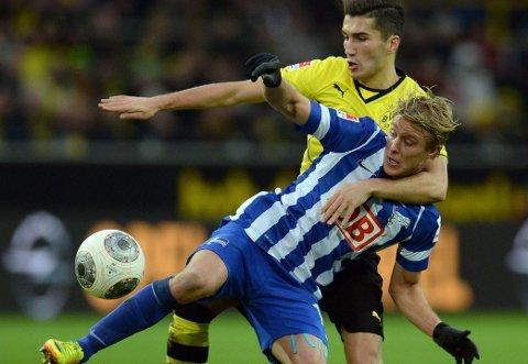 I FORM: Per Ciljan Skjelbred har funnet seg godt til rette i Hertha Berlin.