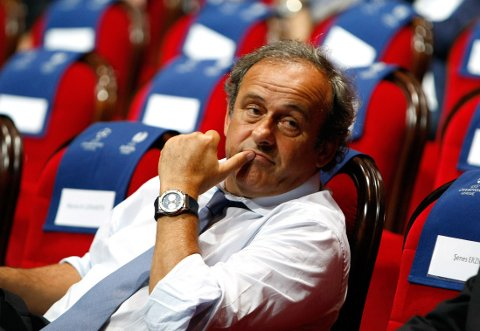SJEF: Michel Platini trives svært godt som sjef, og kommer stadig vekk med oppsiktsvekkende uttalelser.