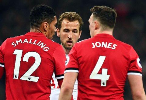 VOKTET MANN: Harry Kane og Tottenham imponerte mot Manchester United nylig.