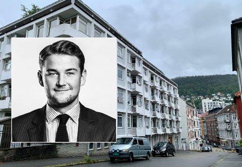 Eiendomsmegler Nicolai Sundbye advarer studenter og foreldre mot å «kuppe» boliger. - Risikabelt for både selger og kjøper, sier Sundbye.