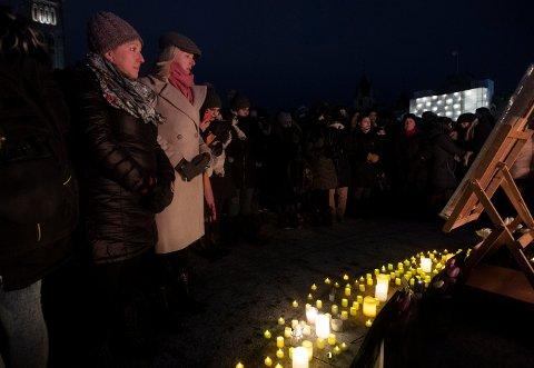 MINNESTUND: Flere canadiske statsråder deltok torsdag på en minnestund i Ottawa for dem som mistet livet i flystyrten.