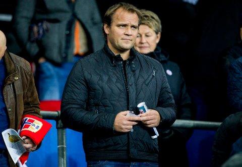 EN AV TO: Hans Erik Ødegaard er ny hovedtrener i Sandefjord Fotball. Han deler jobben med svenske Andreas Tegström.