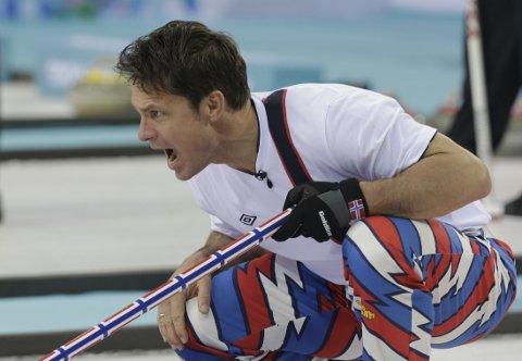 SVIKTET: Thomas Ulsrud og de andre curlingherrene gikk på et nytt tap i OL, denne gang mot Kina.