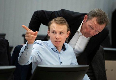 I RETTEN: Henrik Krisrtoffersen møter Norges Skiforbund i retten.