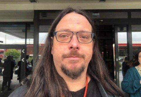 Ole Marcus Mærøe (37) leder Rødt Tønsberg og Rødt Vestfold og er medlem av Rødts landsstyre.
