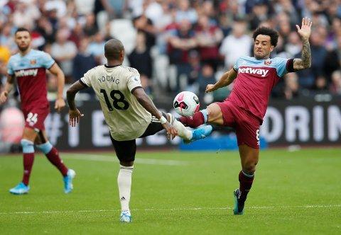 West Ham bytter ut nesten hele startelleveren fra kampen mot United i helgen, men Felipe Anderson spiller antakeligvis fra start i kveld.