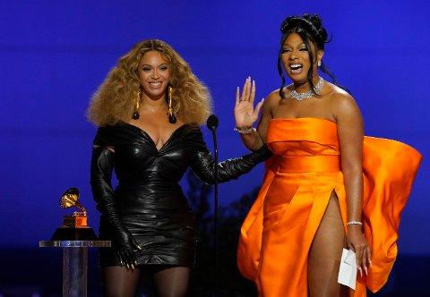 Beyonce og Megan Thee Stallion vant Grammy for beste rap song for låta «Savage».