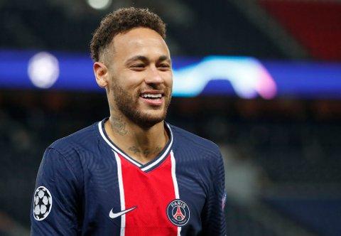 STORSPILTE: Neymar spilte en glimrende kamp for PSG mot Bayern München tirsdag.